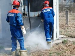 Новость на Newsland: Пожар на подстанции обесточил Морозовскую больницу