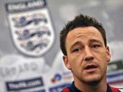 Капитан сборной Англии по футболу Джон Терри сыграет в игре отборочного турнира чемпионата Европы-2008 с Россией