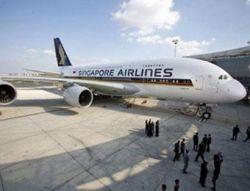 Cамый крупный в мире самолет А380 приступает к работе