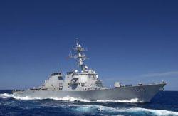 Американские эсминцы не выдерживают океанской волны