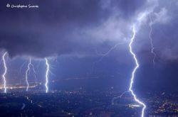 Фотографии молнии фотографа Christophe Suarez (фото)