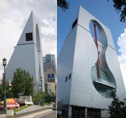 В Японии построен гигантский падающий лифт