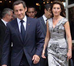 Начался бракоразводный процесс Николя Саркози и его супруги