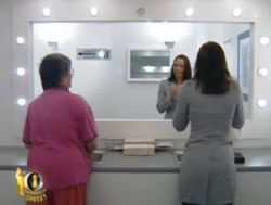 Может ли человек не отражаться в зеркале? (видео)