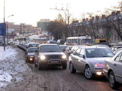 Большой футбол привел к гигантским пробкам в Москве