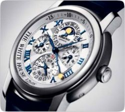 Билл Клинтон выпустил собственную линию элитных швейцарских часов