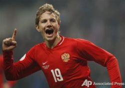 Российская сборная по футболу одержала победу над англичанами (фото)