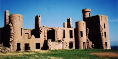 В 2008 году шотландские власти начнут восстановлению замка Слэйнс
