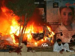Муж Бхутто обвинил в теракте в Карачи спецслужбы Пакистана