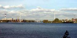 Несколько кадров о строительстве Большого Обуховского моста в Санкт-Петербурге (фото)