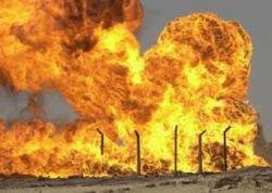 В северном Ираке взорван магистральный нефтепровод