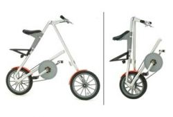 Британская компания Strida выпустила складной велосипед Strida 5.0