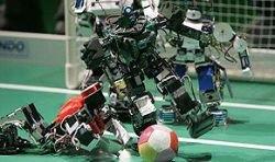 Роботы бросили вызов Дэвиду Бекхэму