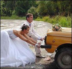 Смешные свадебные фотографии (фото)
