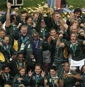 Сборная Южной Африки выиграла Кубок мира по регби