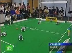 В Японии прошла Олимпиада для роботов (видео)