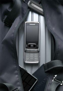 Официальный анонс мобильного телефона Samsung G800 c 5 МП камерой