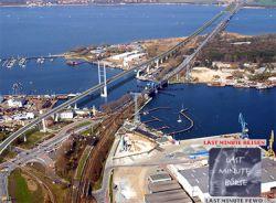 """В Германии построили свои \""""Золотые ворота\"""" - самый длинный в стране мост"""