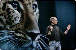 Стив Джобс объявляет декаду Mac OS X