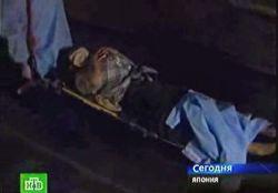 Пассажиры токийского метро оказались в подземной ловушке (видео)