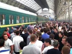 Движение пассажирских поездов в Казахстане переводят на летнее расписание Движение пассажирских поездов с 26 мая...