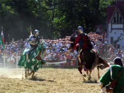 На съемках рыцарского турнира в британском замке погиб рыцарь