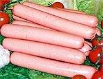 Крашеные сосиски опасны для здоровья