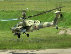 Российские ВВС заменят парк ударных вертолетов к 2015 году