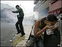 В Венесуэле протестуют против новой конституции