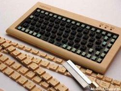 Деревянная клавиатура-конструктор DIY из Японии