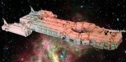 Pathfinder - космический корабль из конструктора Lego (фото)