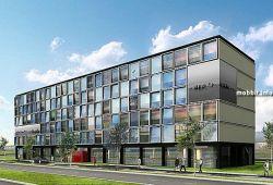 СitizenM - модульная гостиница, которая скоро откроется в Амстердаме (видео)