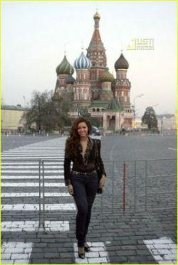 Певица Бейонс побывала в Москве (фото)