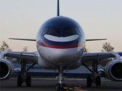 """Компания \""""Гражданские самолеты Сухого\"""" нашел заказчиков еще на 130 самолетов SuperJet-100"""