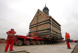 Церковь Emmaus-Kirche отправляется в город Борна  (фото)
