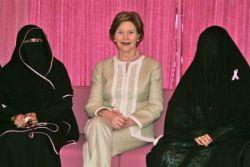 Лора Буш навестила женщин востока (фото)
