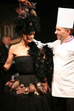 Salon du Chocolat - парижское шоколадное шоу (фото)