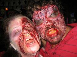 Жители Нью-Йорка готовятся к Хэллоуину (фото)