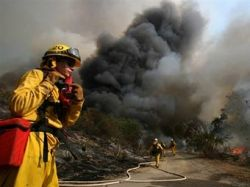Причиной калифорнийского пожара стал поджог