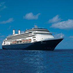 Уникальный круиз лайнера Rotterdam - вокруг света за 117 дней