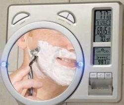Зеркало для ванной Weather Station - брейся, получая информацию о погоде