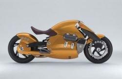 Suzuki Biplane - мотоцикл будущего (фото)