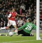 Английские «Арсенал» и «Манчестер Юнайтед» забили 11 мячей на двоих