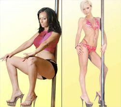 Участницы Spice Girls берут уроки стриптиза