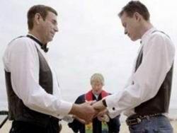 Венчание гомосексуалистов