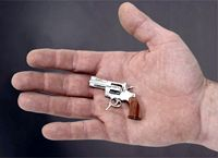 В Швейцарии сделали самый маленький функционирующий пистолет в мире (видео)