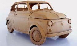 Итальянский дизайнер Крис Гилмор создает автомобили из картона