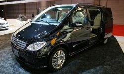 Mercedes-Benz на токийском автосалоне представил микровэн Viano X-Clusive