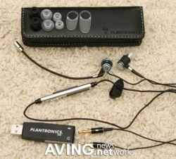 Компания Plantronics представила стереогарнитуру Audio 480 для пользователей ноутбуков