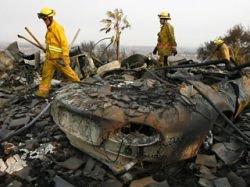 В Калифорнии найдены обугленные тела шести человек